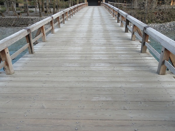 Frost on Kappa-bashi Bridge